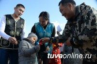 Глава Тувы с рабочим выездом побывал в приграничном Эрзинском районе
