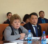 Глава Кызыла выступила с Отчетом об итогах работы за год