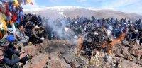 Жители Бай-Тайгинского района Тувы поблагодарили Шолбана Кара-оола за буддийский субурган на святой горе