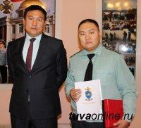 Руководство МВД по Республике Тыва поблагодарило гражданина, задержавшего виновника ДТП