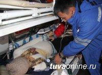 Вертолет санитарной авиации выполнил 117 вылетов в районы Тувы