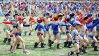 Тува и Краснодарский край - лидеры России по доле населения, занимающегося физкультурой и спортом - 46%