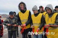 В Туве официально ввели в эксплуатацию подъездную дорогу к туристской базе при мараловодческом хозяйстве «Туран»
