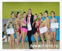 В первенстве Кызыла по художественной гимнастике участвовали 80 спортсменок