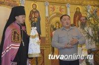 Глава Тувы поздравил жителей республики с Рождеством Христовым