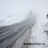 В Туве инспекторы ДПС помогли замерзающим участникам дорожного движения