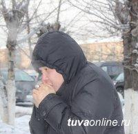 В Кызыле вновь 42 градуса мороза. Не учатся школьники 1-9 классов