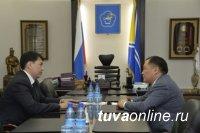 Депутат ГосДумы Мерген Ооржак прибыл в Туву в рамках очередной региональной недели
