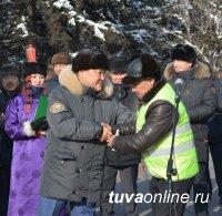 """При поддержке Правительства Тувы городской автопарк пополнился 20 автобусами """"ПАЗ"""""""