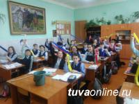 Оформлением центра столицы Тувы к празднику Шагаа занимаются все школьники Кызыла