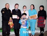 В канун светлого праздника Шагаа семья сотрудника полиции посетила дом ребенка