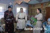 Молодые чабаны из села Терлиг-Хая Кызылского района – образцовые участники проекта «Кыштаг – для молодой семьи»