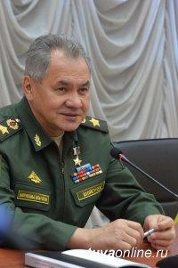 Сергей Шойгу поздравил военнослужащих и ветеранов с Днем защитника Отечества