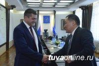 Глава Тувы и начальник ФКУ «Енисей» согласовали работу по приведению дороги от Кызыла до Хандагайты к федеральным стандартам