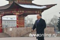 Глава Тувы Шолбан Кара-оол поблагодарил земляков за максимальную сплоченность на выборах Президента России