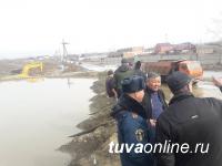 В Кызыле в связи с подтоплением домов в двух микрорайонах объявлена ЧС муниципального уровня
