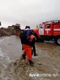 Тува: Роспотребнадзор рекомендует строго соблюдать осторожность при использовании воды из колодцев на территориях подтопления