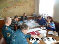 В Кызыле снят режим чрезвычайной ситуации
