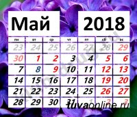 Минтруд России напомнил о выходных днях в мае и июне