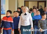 1116 кызылчан побывали на Дне открытых дверей в Кызылском президентском кадетском училище