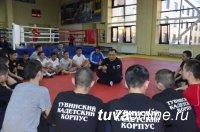 Глава Тувы продолжает тренировки с подшефными детьми из школы-интерната