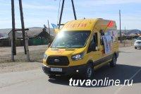 В Кызыле и поселке Каа-Хем проведен автопробег, посвященный безопасности дорожного движения