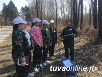 Команда школьного лесничества села Черби - лучшая в Туве!