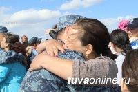 Из полугодовой командировки в Северо-Кавказский регион вернулся сводный отряд МВД по Республике Тыва