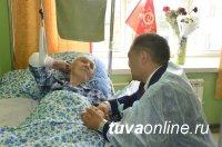 День Победы в Кызыле встретили 18 фронтовиков и блокадников