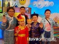Тувинские дети выступили в программе «Карусель»!