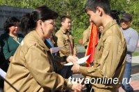 В Туве дан старт третьему трудовому семестру студенческих отрядов