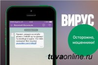 МВД по Республике Тыва предупреждает: мошенники присылают смс- сообщения с вирусом