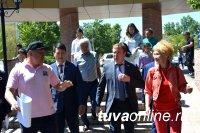 В Кызыле побывал глава сибирского МКС «Единой России» Виктор Зубарев