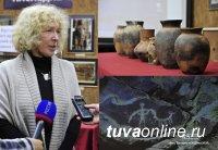 В Туве обнаружено захоронение эпохи хунну