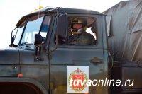 В Туве прошли первые гонки в рамках Всероссийского конкурса «Военное ралли»