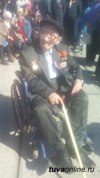 На 89 году ушел из жизни ветеран ВОВ Алдын-Херел Алдаевич Куулар
