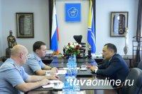Дмитрий Обломий возглавил Управление ФСИН России по Республике Тыва