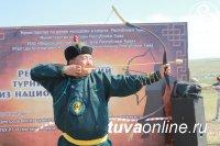 Наадым-2018: Горловик, депутат городского парламента Андрей Монгуш победил в соревнованиях по стрельбе из лука