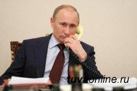 Президент России Владимир Путин и Премьер-министр РФ Дмитрий Медведев поздравили Главу Тувы с днем рождения по телефону