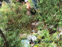 """""""Добрые сердца Тувы"""" очистили пять километров тайги от мусора"""