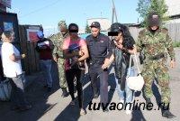 Сотрудники полиции проводят масштабную профилактическую операцию «Жилой сектор» на территории левобережных дачных обществ  Кызыла