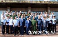 50 выпускников силовых вузов вернулись для прохождения службы в Туву
