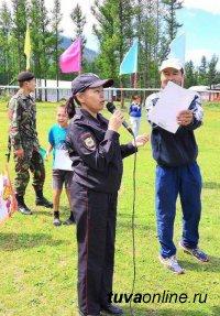 Сотрудники полиции Тувы провели профилактические мероприятия в летних оздоровительных лагерях