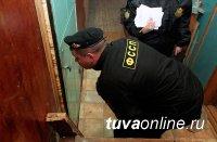 Судебные приставы Тувы вытащили должника из шкафа