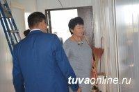 На Левобережных дачах Кызыла завершается строительство врачебной амбулатории