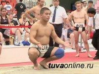 Сутхольский борец Кунденсонам Ондар завоевал золото в составе команды России на чемпионате мира по сумо