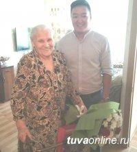 95 лет исполнилось участнику Великой Отечественной войны Масловой Наталье Ивановне