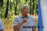 В Национальном парке Тувы открыта новая детская площадка