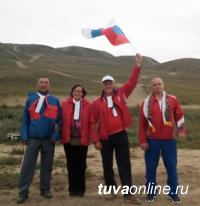 Депутаты городского Хурала совершили в День российского флага восхождение на гору Догээ