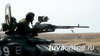 Лошади привезли боеприпасы на горные учения мотострелков в Туве
